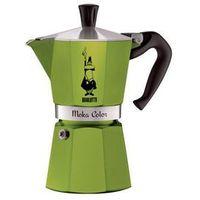 Bialetti moka color kawiarka 6 filiżanek 6 tz green marki Bialetti / kawiarki / mokka induction