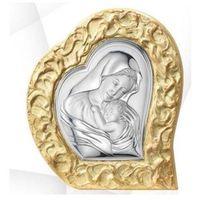 Obraz matka boska z dzieciątkiem w złotej ramie- (vl#81053) marki Valenti & co