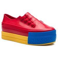 Sneakersy - ulitisa sneaker platfor 32556 red/yellow/blue 53497, Melissa, 35.5-41.5