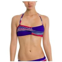 strój kąpielowy BENCH - Twist Bandeau Top A0657-Crazy Small Stripe Repea (P1203), bandeau