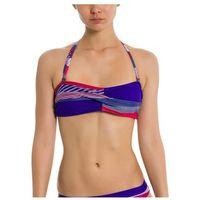 strój kąpielowy BENCH - Twist Bandeau Top A0657-Crazy Small Stripe Repea (P1203) rozmiar: S, 1 rozmiar
