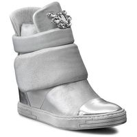 Sneakersy CARINII - B3572 Lustro Srebro/Dave Met 6651/037