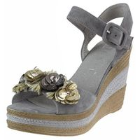 Sandały Nessi 18346 - Szare 194, kolor szary