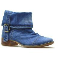 Botki 40c201 jeans, Lanqier