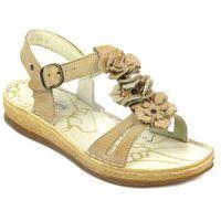Sandały damskie 669 - brąz, Helios