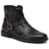 Botki - 230679-1700-59 regular black marki Levi's