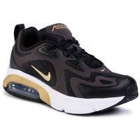 Buty - air max 200 (gs) at5627 003 black/metallic gold/anthracite marki Nike
