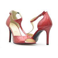 Sandały Palazzo 210/BR52 Czerwone lakier