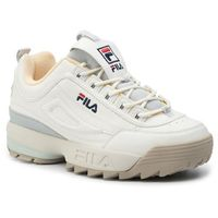 Fila Sneakersy - disruptor cb low wmn 1010604.02x marshmallow/gray violet
