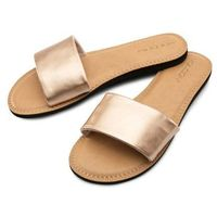 Volcom - simple slide sndl rose gold (rgd) rozmiar: 6