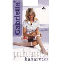 Podkolanówki Gabriella 151 kabaretki uniwersalny, czarny/nero, Gabriella