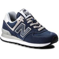New balance Sneakersy - wl574en granatowy