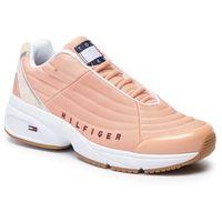 Sneakersy - heritage tommy jeans sneaker en0en00662 pink sand/birch 0jv, Tommy jeans, 36-41