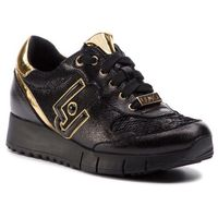 Liu jo Sneakersy - gigi 02 b19019 ex006 metallic/sequi ns 22222