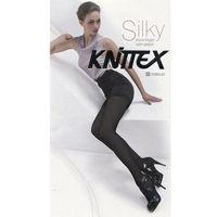Knittex Rajstopy silky 120 den rozmiar: 4-l, kolor: czarny/nero, knittex