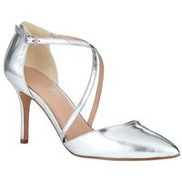 izzy metallic leather pointed court marki Phase eight
