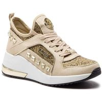 Sneakersy GUESS - FL5JUL FAL12 BEIBR BROWN, kolor beżowy