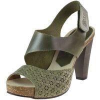 Sandały 42103 - khaki 11+ plecionka marki Nessi