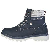 Buty za kostkę botki damskie - tennesse_caw721001-07 marki Carrera jeans