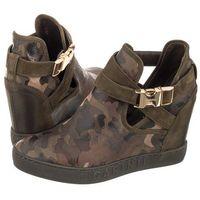 Sneakersy Carinii Zielone Moro B3939 (CI227-a), B3939-F33-I43-000-B88