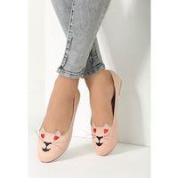 Różowe Balerinki Lovely Kitty