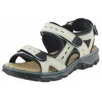 Sandały 68872 - beżowe, Rieker