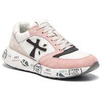 Sneakersy - zac-zac-d 3057 biały różowy marki Premiata