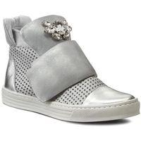 Sneakersy CARINII - B3522M Venus Lustro Srebro/Dave Met 6729/0101