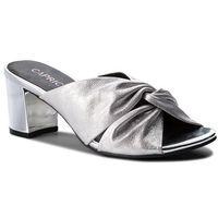 Klapki - 9-27212-30 silver metal 920, Caprice, 36-40.5