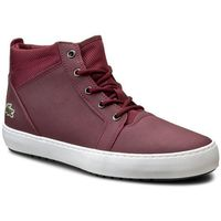Lacoste Sneakersy - ampthill chukka 416 1 spw 7-32spw01541v9 burg