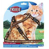 szelki xl dla dużego kota z motywem 34-57 cm/13 mm marki Trixie