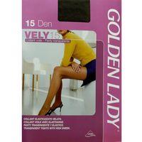 Rajstopy | vely 15 den 24h ii, beżowy/camel. golden lady, iv, ii, iii marki Golden lady