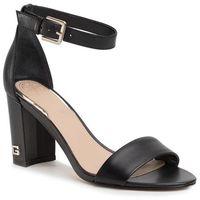 Sandały GUESS - Melisa FL6MEA LEA03 B BLACK, w 6 rozmiarach