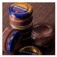 SAPHIR 98 - czekolada / chocolate krem do obuwia butów 50ml