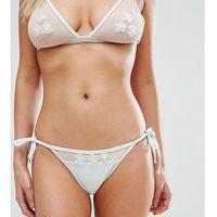 Peek & Beau Applique Tie Side Bikini Bottom - Multi