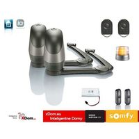 Axovia 220b io pakiet komfort (2 piloty 4-kanałowe keygo io, fotokomórk,lampa, akumulator) marki Somfy