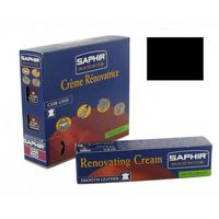 RENOVATING CREAM TUBE SAPHIR 25ml - Czarny, Krem do renowacji skór na zadrapania