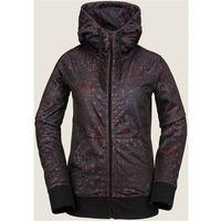 Volcom Bielizna termoaktywna - cascara fleece black floral print (bfp) rozmiar: m