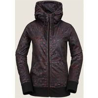 Volcom Bielizna termoaktywna - cascara fleece black floral print (bfp) rozmiar: xs