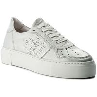 Sneakersy - 801 14463502 101 silver 165, Marc o'polo