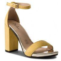 Sandały MENBUR - 07966 Yellow 0014
