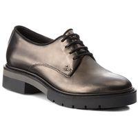 Tommy hilfiger Oxfordy - metallic leather lac fw0fw03150 dark silver 015