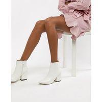 kola white ankle boots - white, Raid