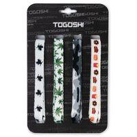 Zestaw sznurówek do obuwia TOGOSHI - TG-LACES-120-4-MEN-007 Biały Kolorowy