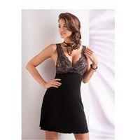 Koszula Nocna Model Laila (miseczki usztywniane) Black