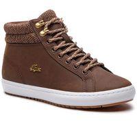 Sneakersy - straightset insulatec3182 caw 7-36caw0045b18 brw/wht marki Lacoste