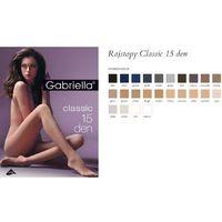 104 classic 15 den plus grigio rajstopy marki Gabriella