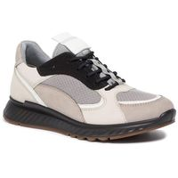 Ecco Sneakersy - st.1 w 83627351560 moon rock/white/gravel/black