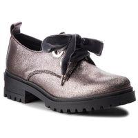 Oxfordy TOMMY JEANS - Metallic Cleated Sho EN0EN00378 Steel Grey 039, w 4 rozmiarach