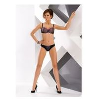 Biustonosz push up Biustonosz Push-up Model 0146/11 Harriet Black - Mat, kolor czarny